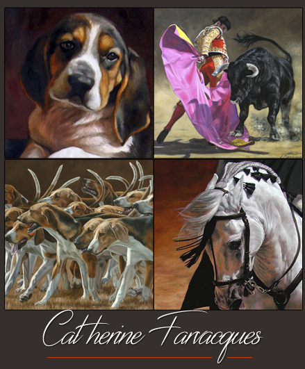 Catherine farvacques artiste peintre animalier for Artiste animalier